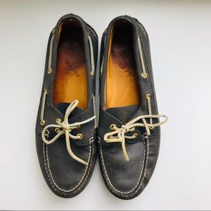 Sperry Gold Cup Boat Shoe in Slate Grey